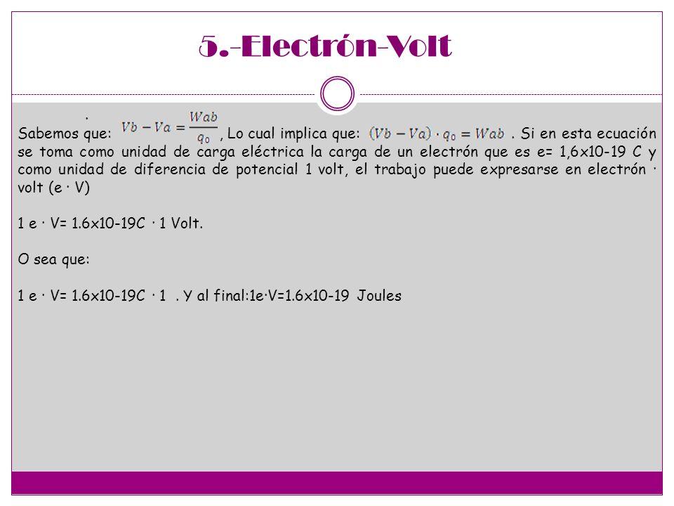 5.-Electrón-Volt .