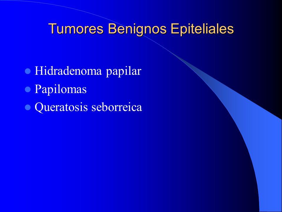 Tumores Benignos Epiteliales