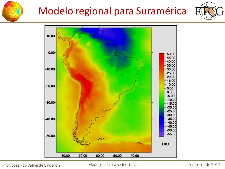 Modelo regional para Suramérica