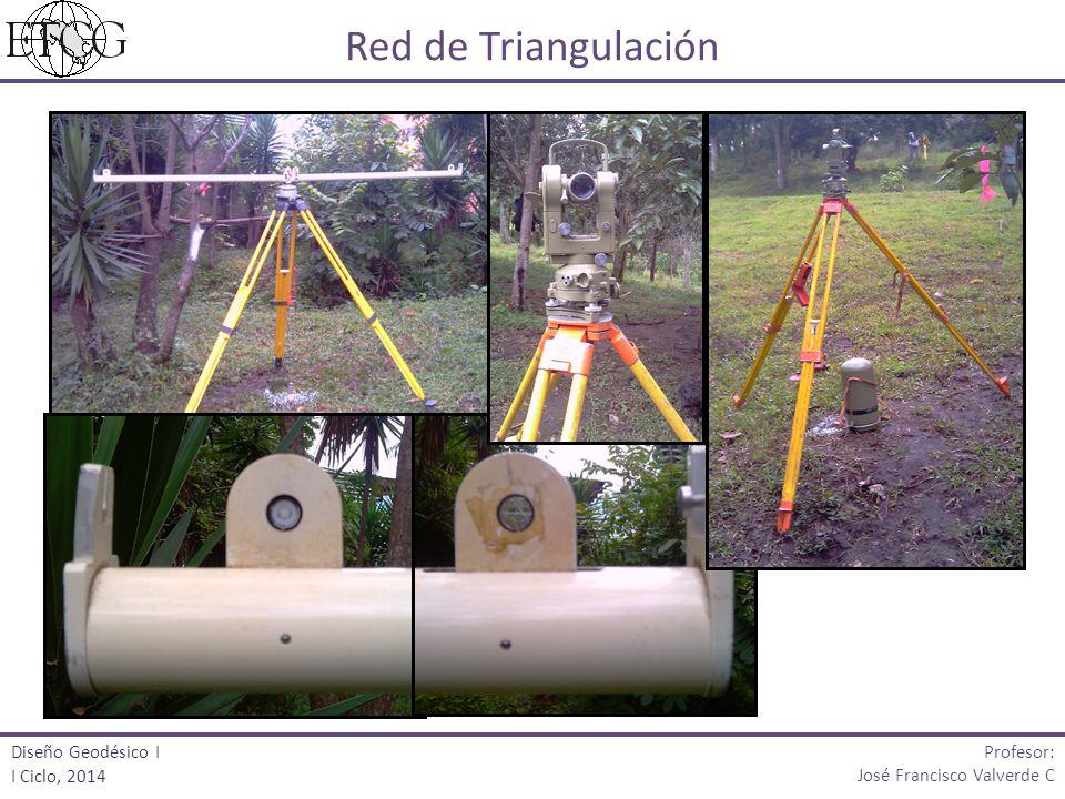Red de Triangulación Profesor: Diseño Geodésico I I Ciclo, 2014