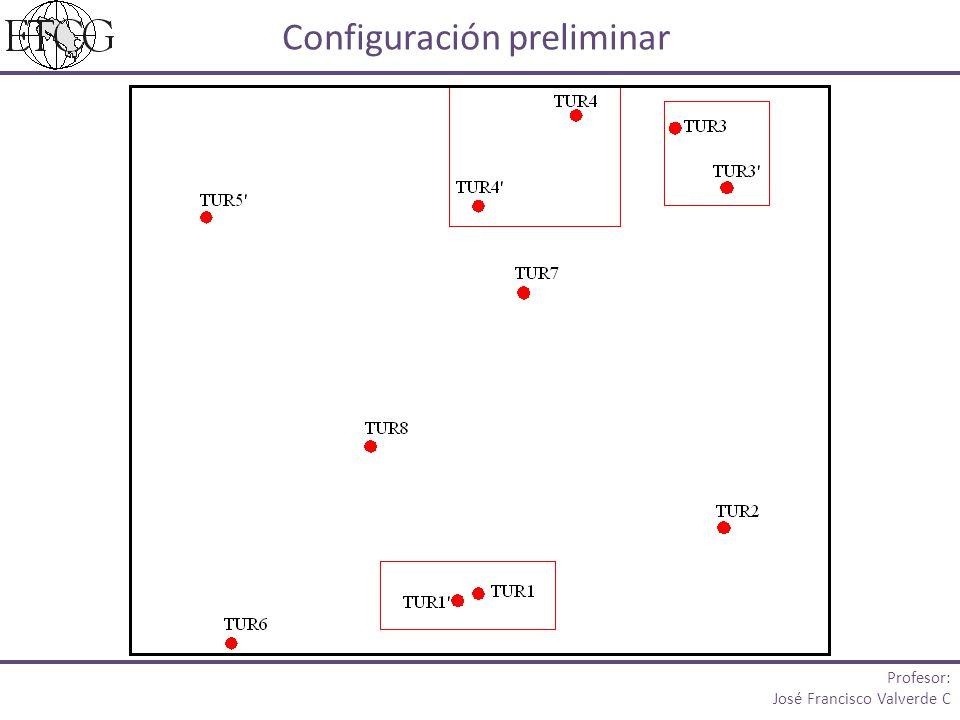 Configuración preliminar
