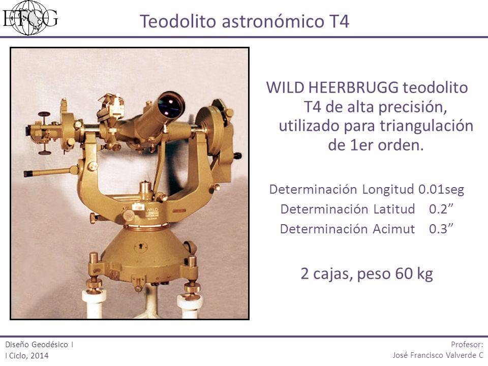 Teodolito astronómico T4