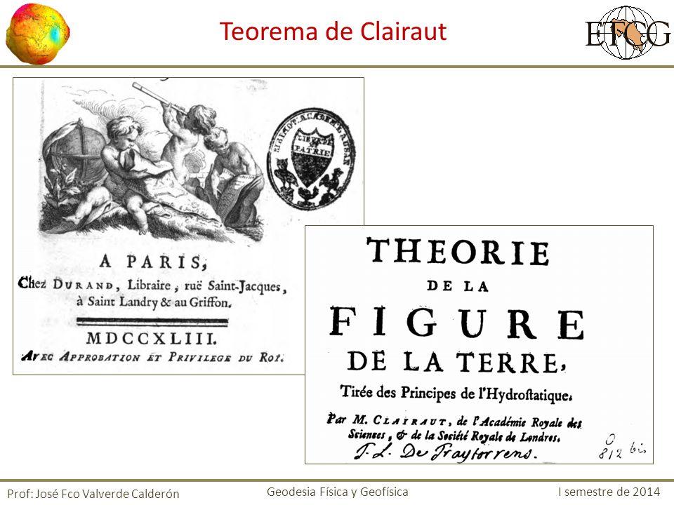 Teorema de Clairaut Prof: José Fco Valverde Calderón