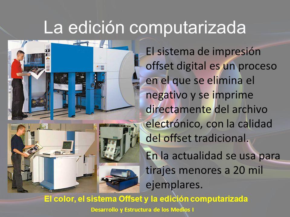 La edición computarizada