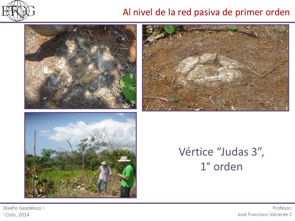 Vértice Judas 3 , 1° orden