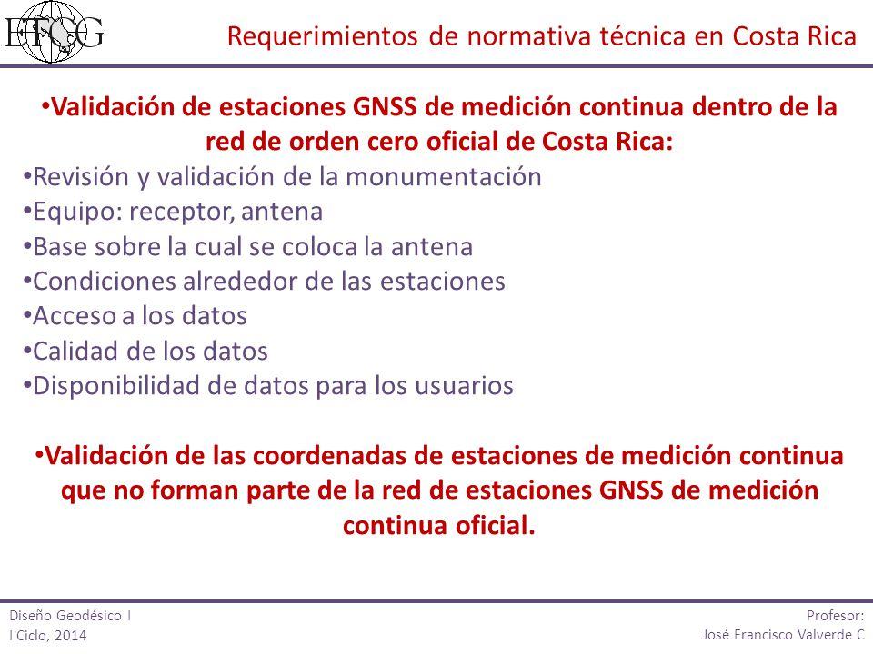 Requerimientos de normativa técnica en Costa Rica