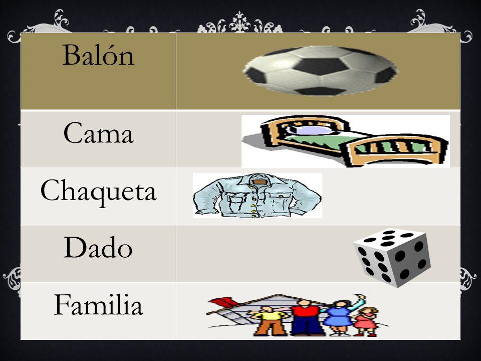 Balón Cama Chaqueta Dado Familia