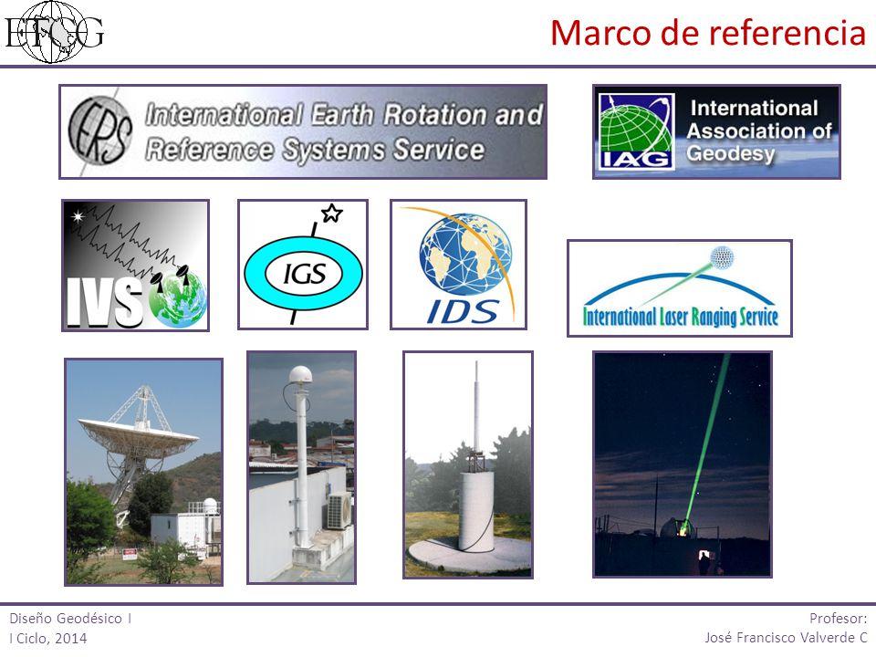Marco de referencia Profesor: Diseño Geodésico I I Ciclo, 2014