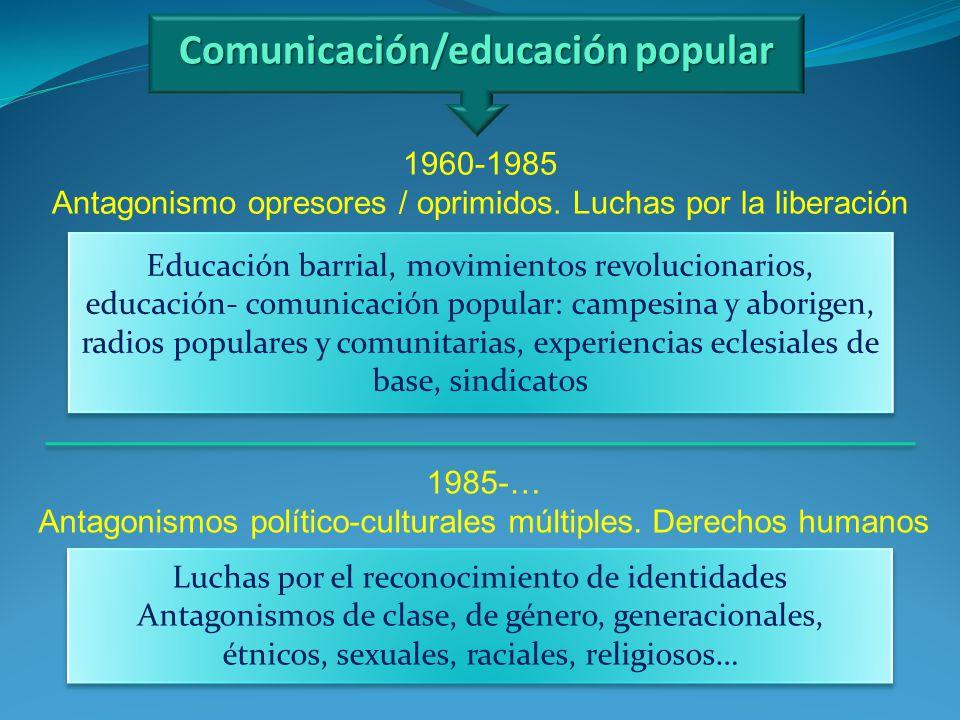 Comunicación/educación popular