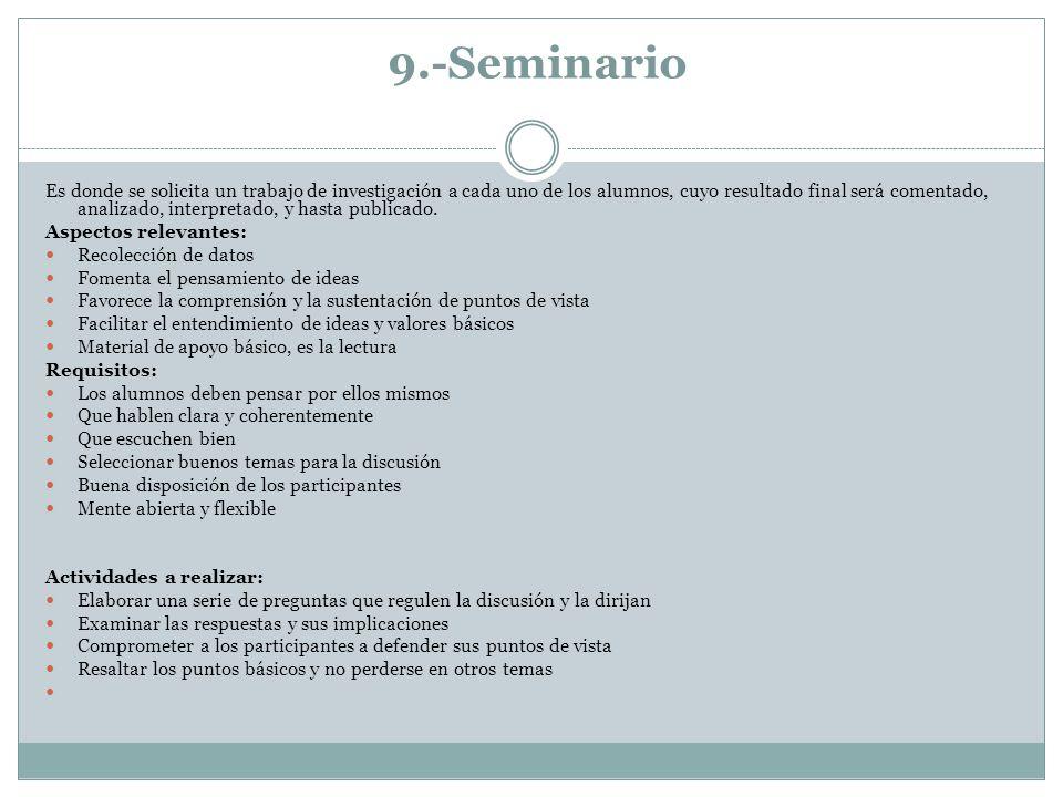 9.-Seminario