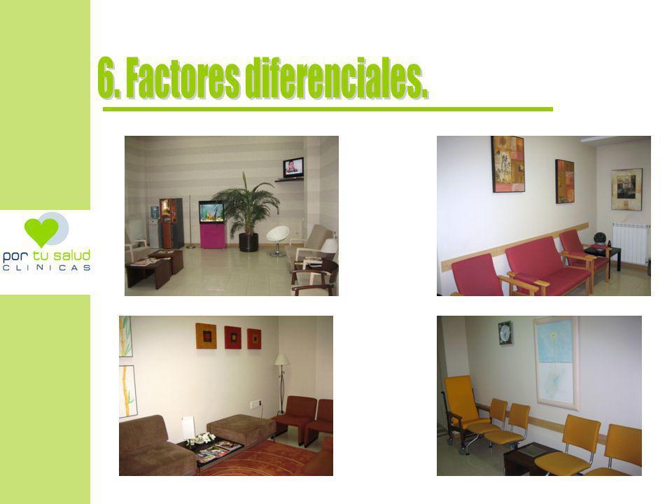 6. Factores diferenciales.