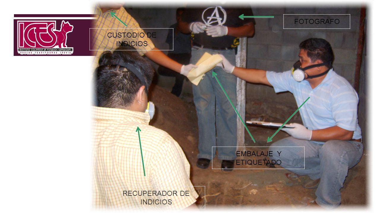 RECUPERADOR DE INDICIOS