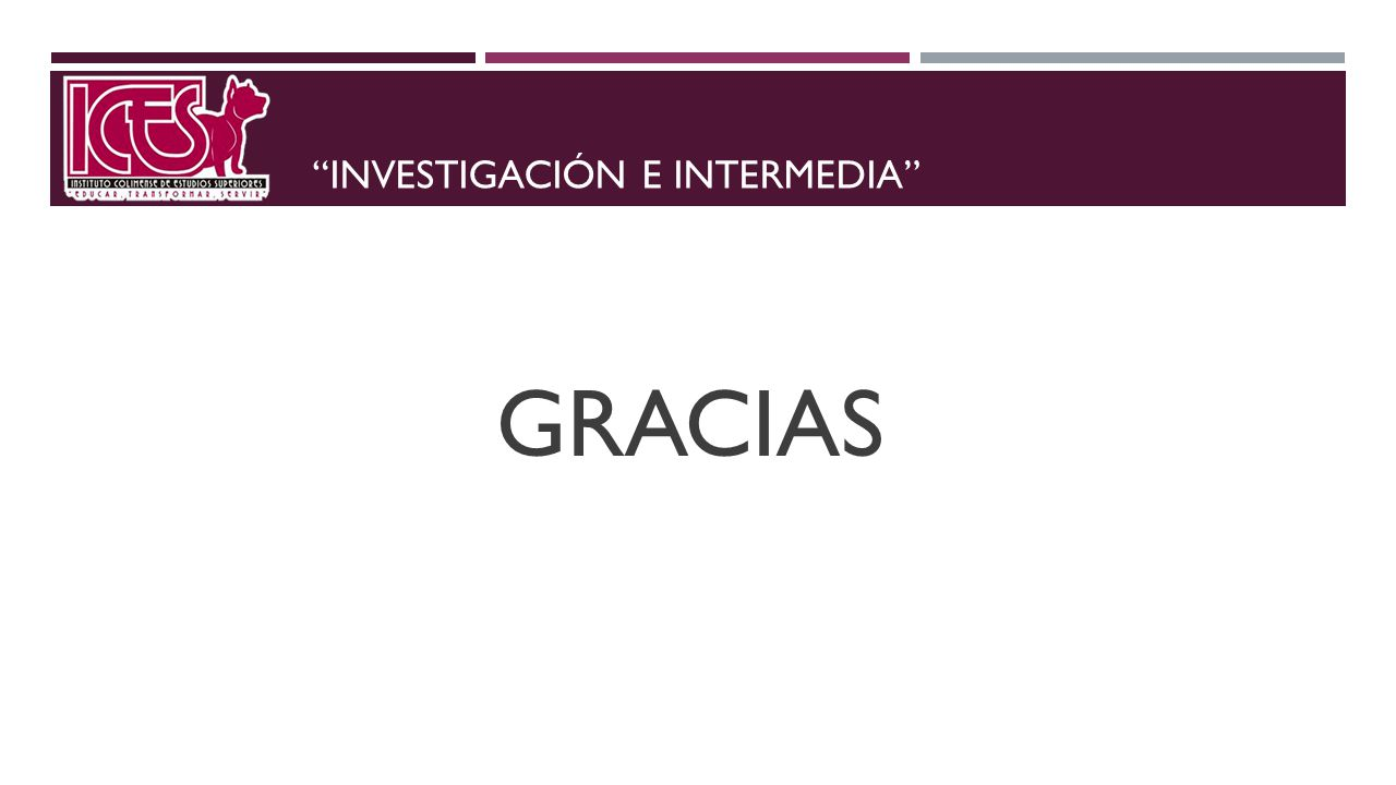 Investigación e intermedia
