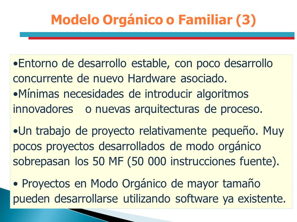 Modelo Orgánico o Familiar (3)