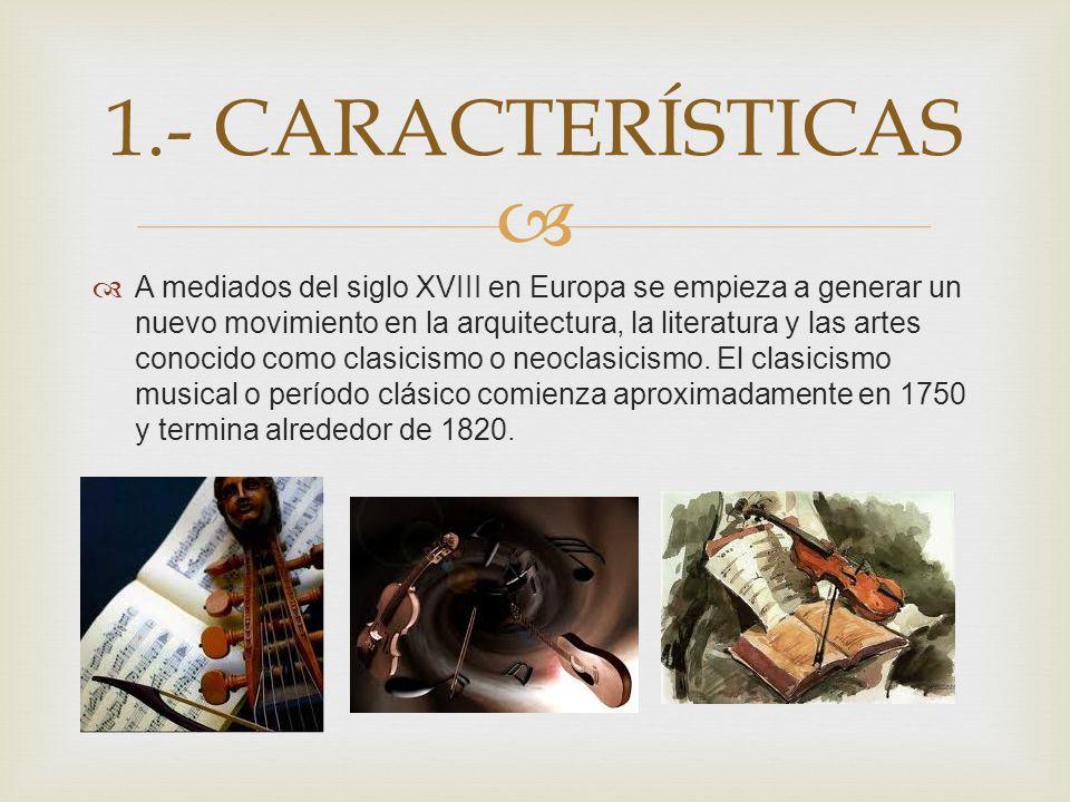 1.- CARACTERÍSTICAS