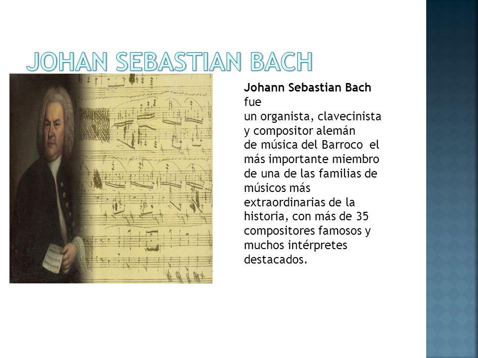 JOHAN SEBASTIAN BACH