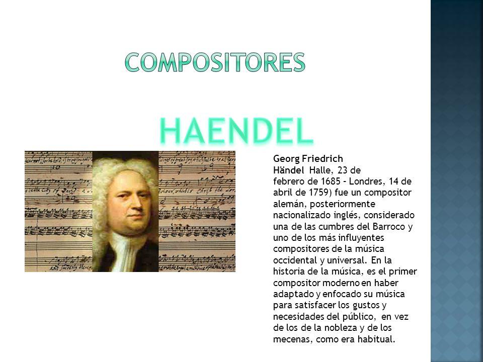 COMPOSITORES HAENDEL.