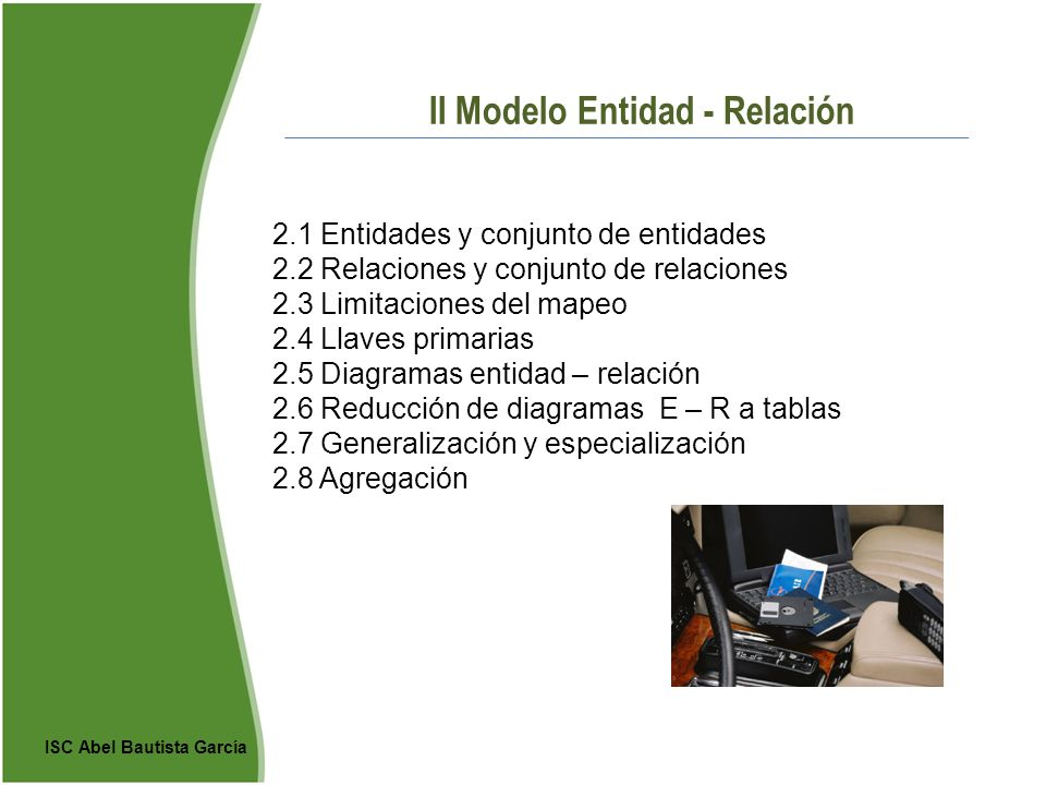 II Modelo Entidad - Relación