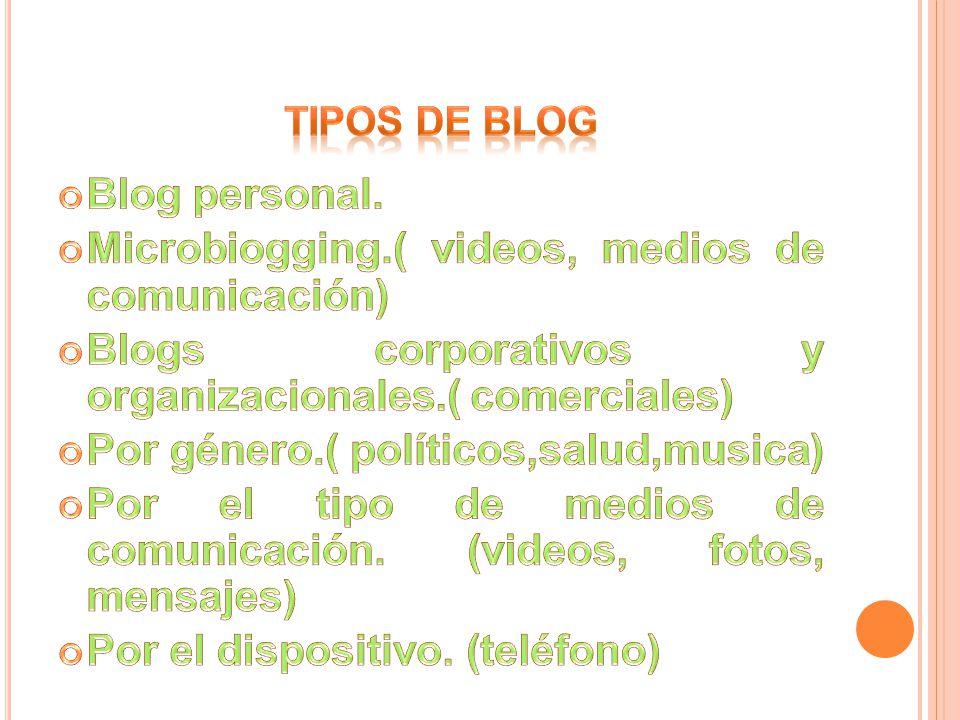 Microbiogging.( videos, medios de comunicación)