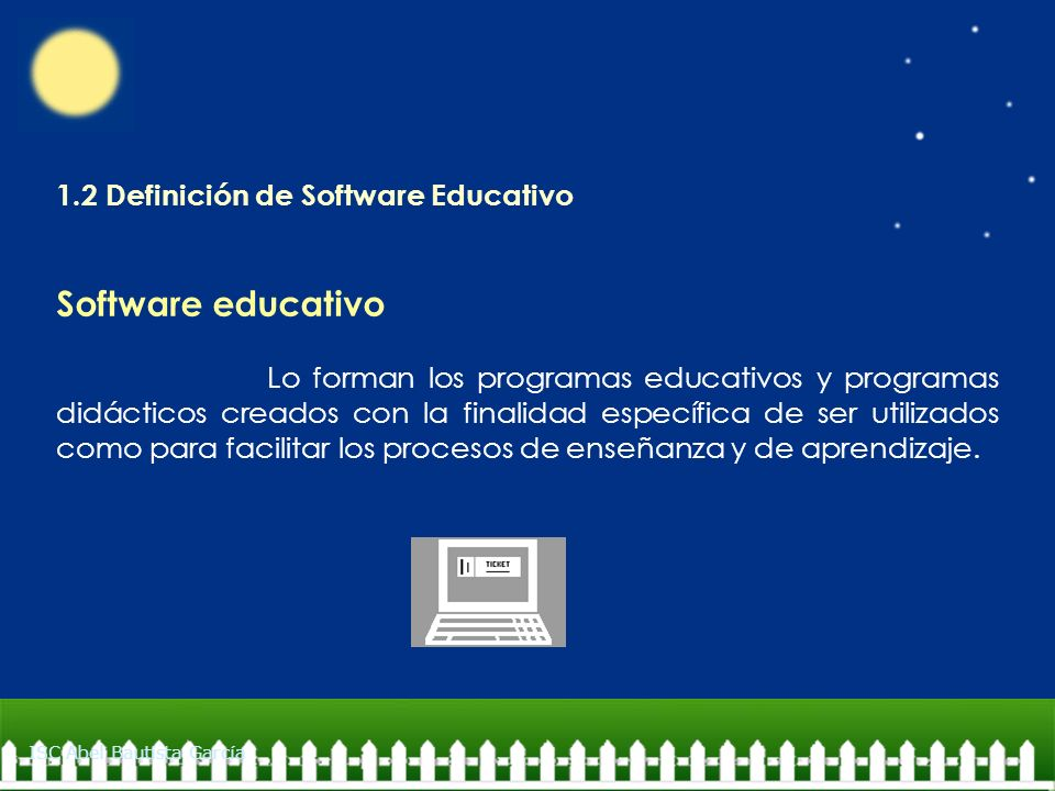 Software educativo 1.2 Definición de Software Educativo