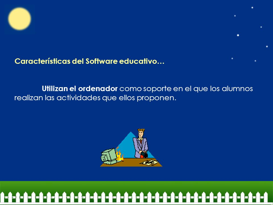 Características del Software educativo…