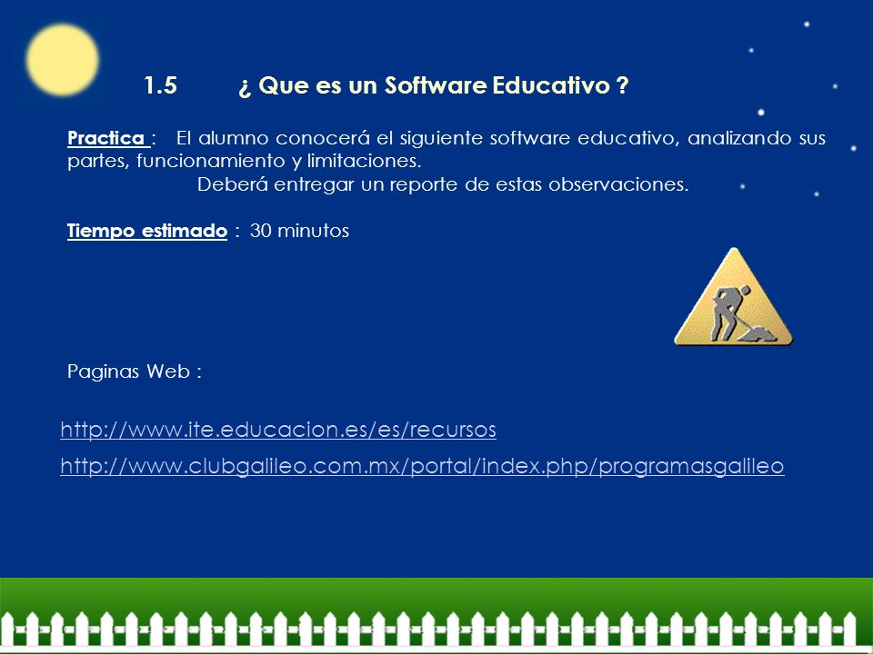 1.5 ¿ Que es un Software Educativo