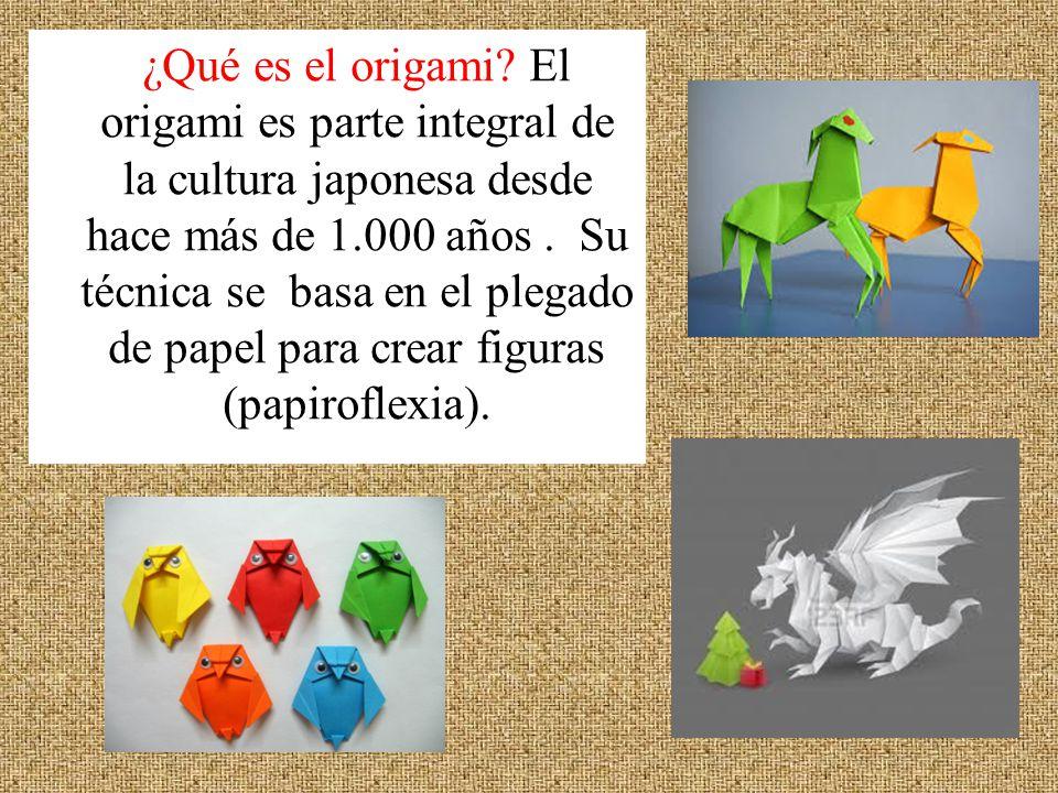 ¿Qué es el origami.
