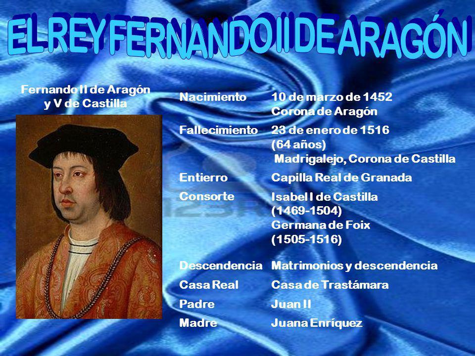 EL REY FERNANDO II DE ARAGÓN