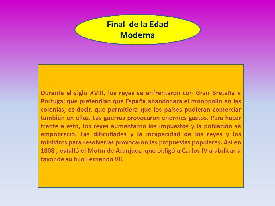 Final de la Edad Moderna