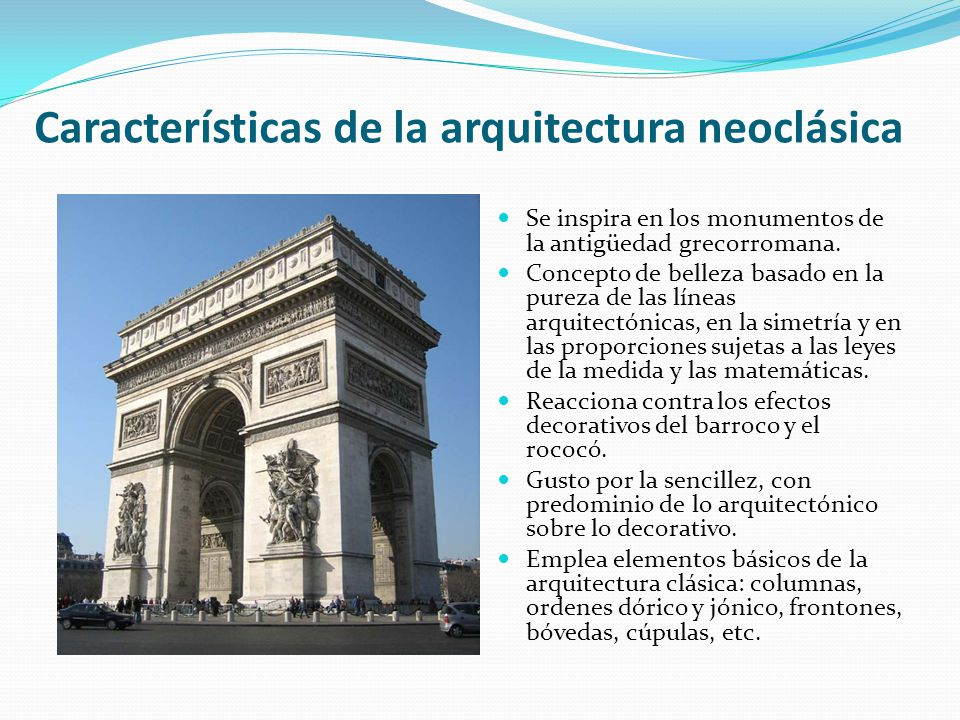 arquitectura y arte neoclasicista ppt video online descargar