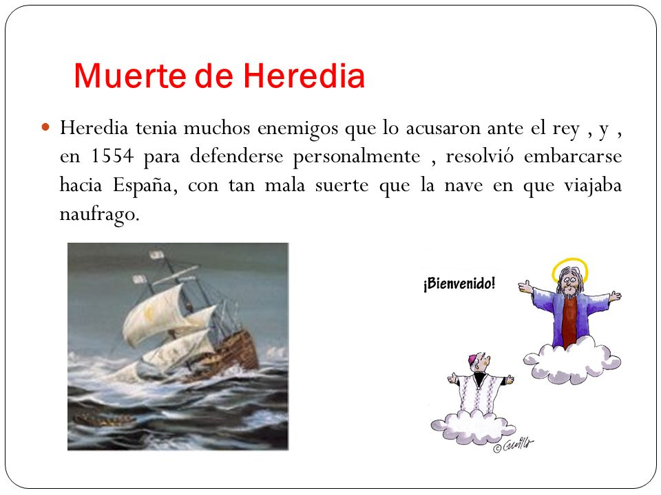 Muerte de Heredia