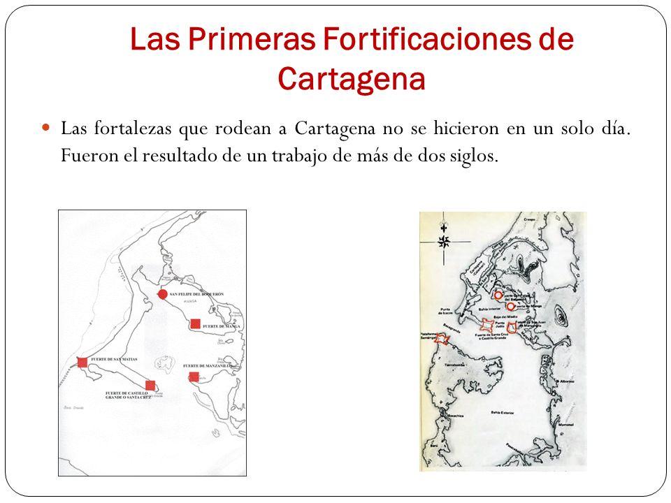 Las Primeras Fortificaciones de Cartagena