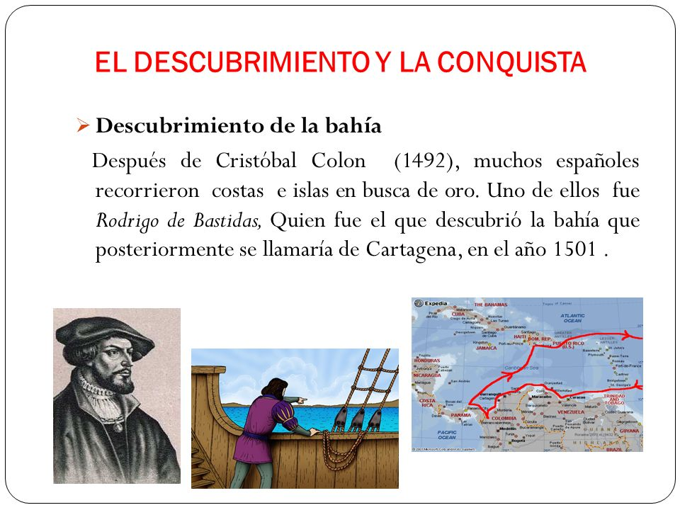 EL DESCUBRIMIENTO Y LA CONQUISTA