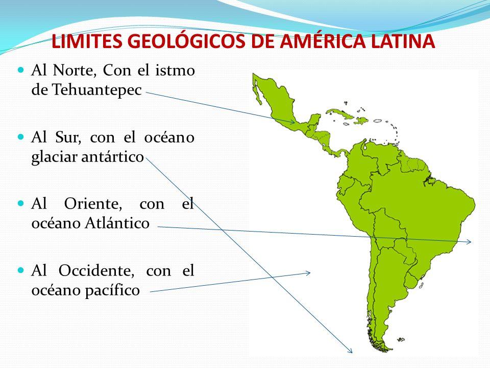 LIMITES GEOLÓGICOS DE AMÉRICA LATINA