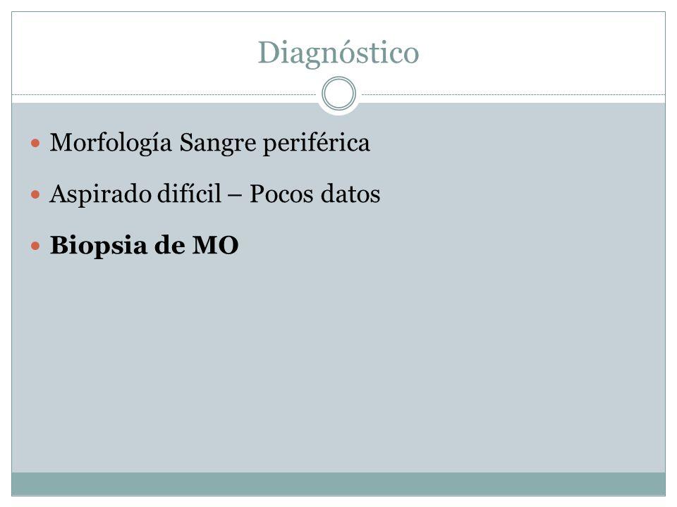 Diagnóstico Morfología Sangre periférica