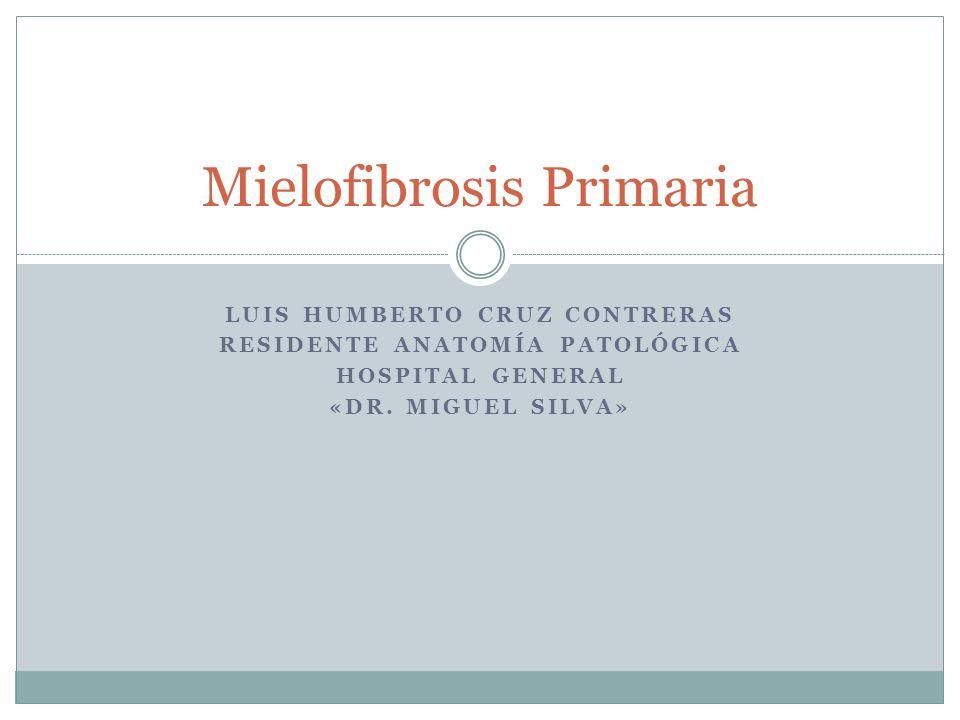 Mielofibrosis Primaria