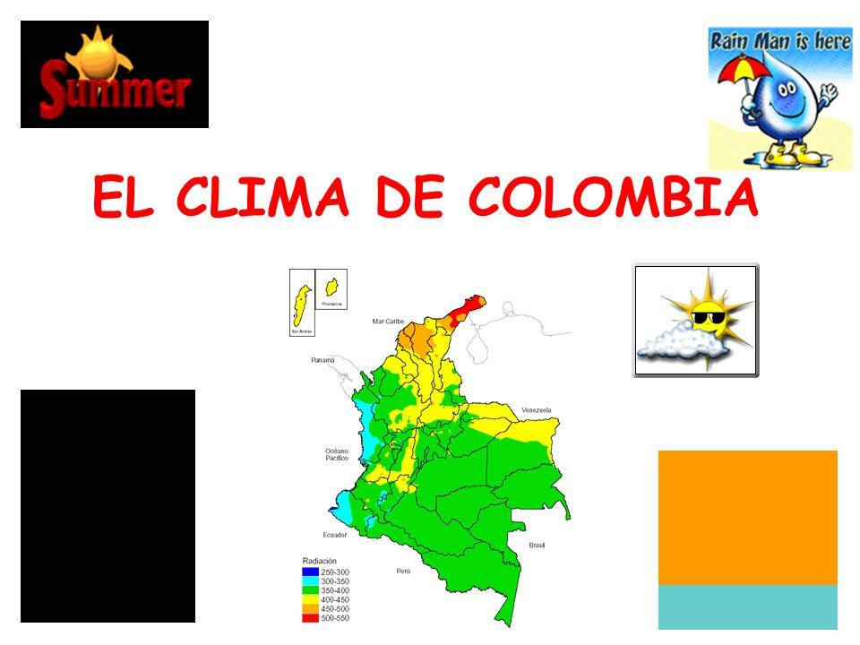 EL CLIMA DE COLOMBIA