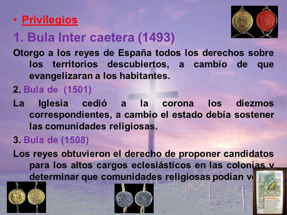 1. Bula Inter caetera (1493) Privilegios