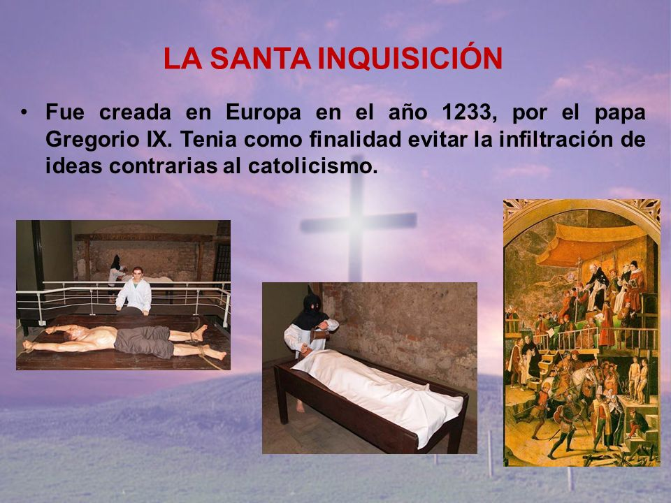 LA SANTA INQUISICIÓN