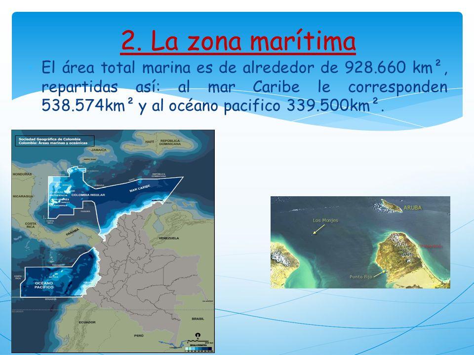 2. La zona marítima