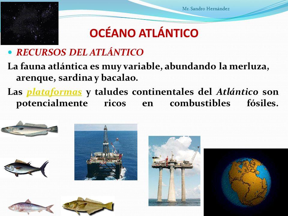 OCÉANO ATLÁNTICO RECURSOS DEL ATLÁNTICO