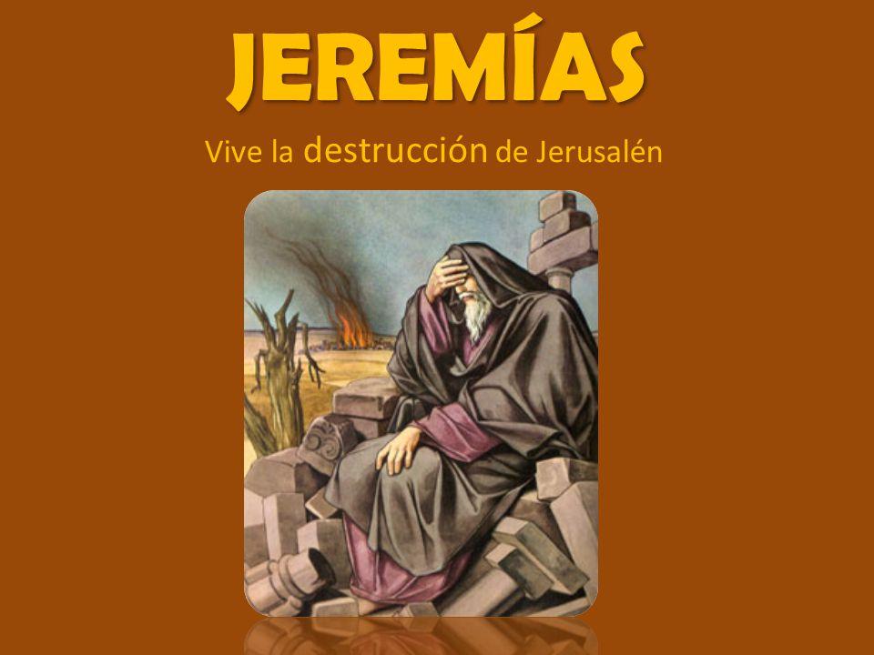 Vive la destrucción de Jerusalén