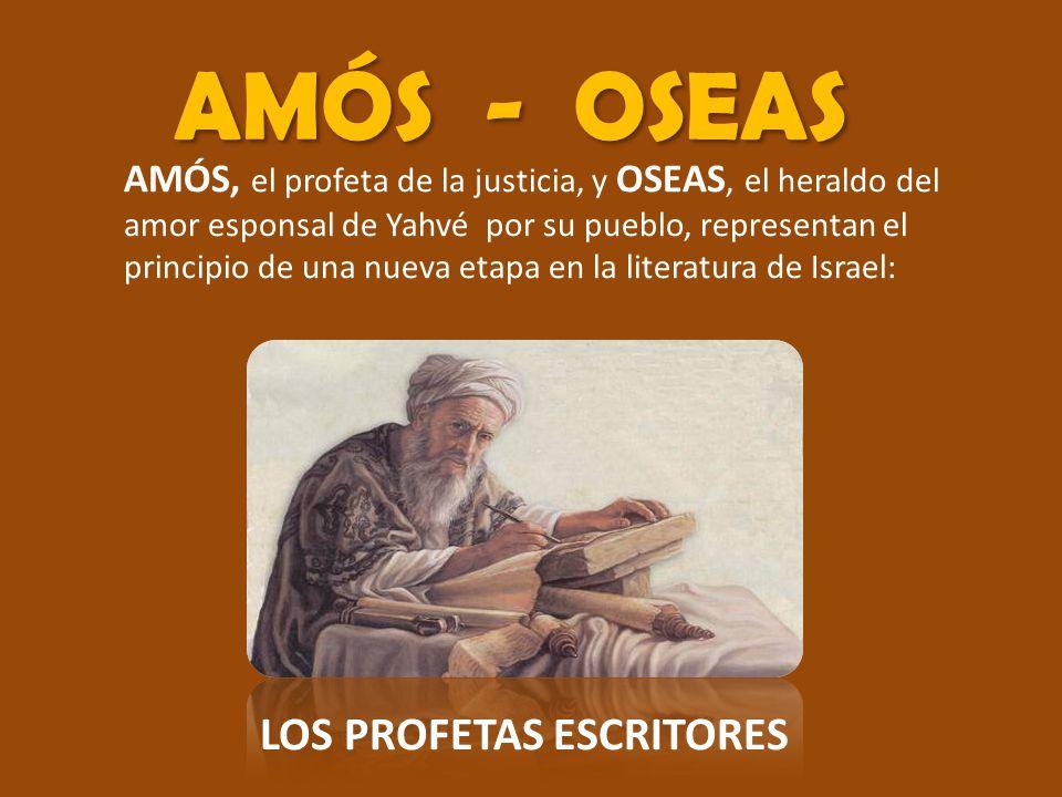 LOS PROFETAS ESCRITORES