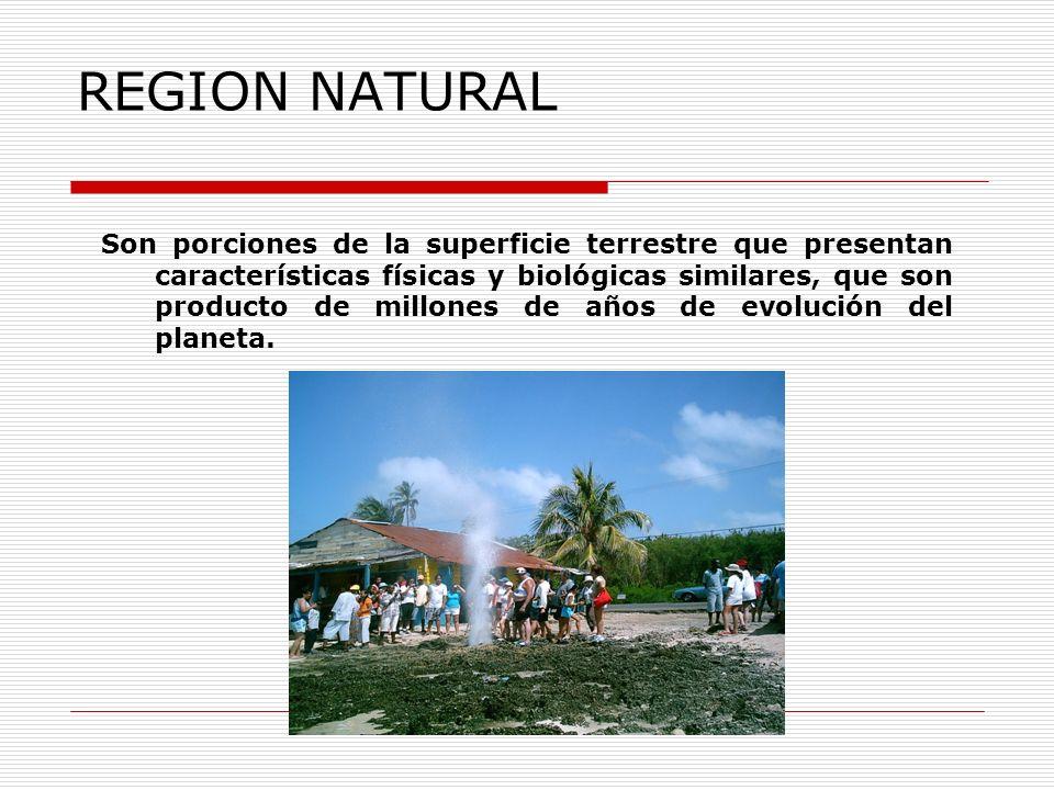 REGION NATURAL