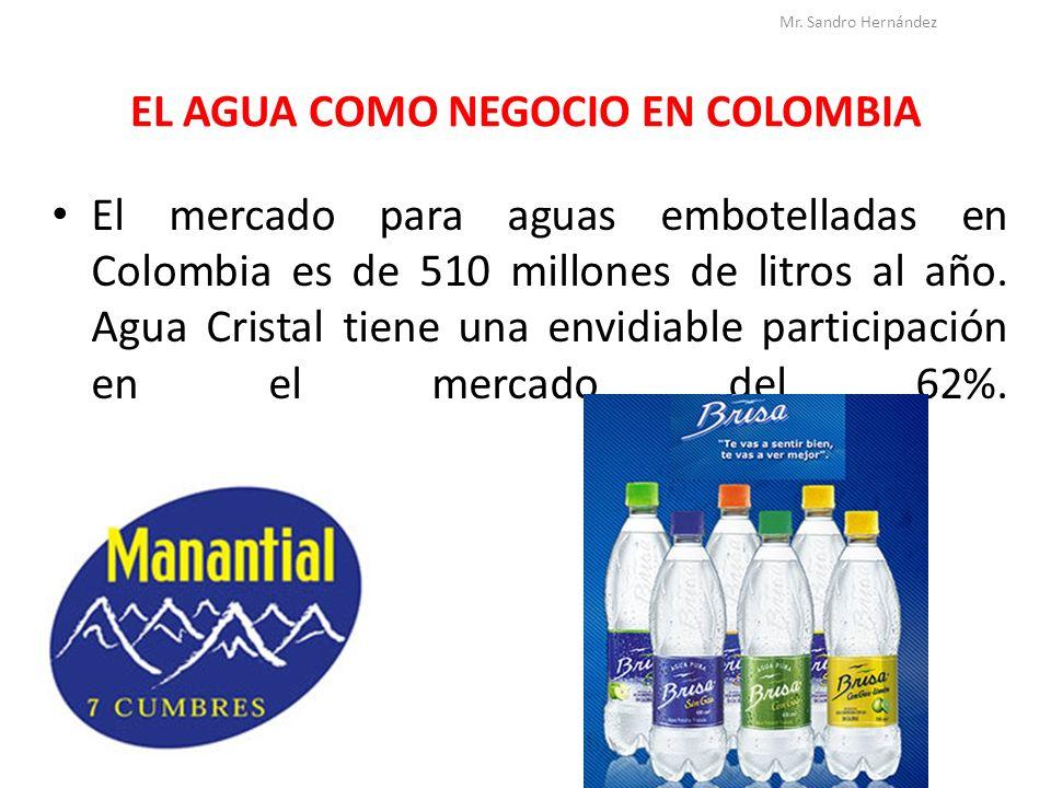 EL AGUA COMO NEGOCIO EN COLOMBIA