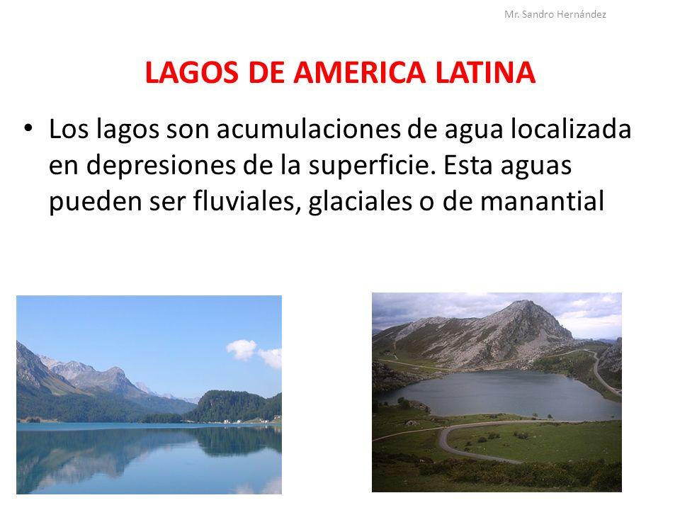 LAGOS DE AMERICA LATINA