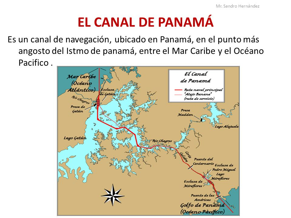Mr. Sandro Hernández EL CANAL DE PANAMÁ.
