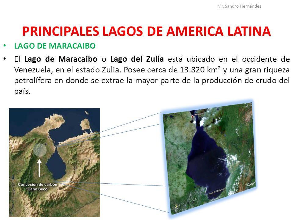 PRINCIPALES LAGOS DE AMERICA LATINA