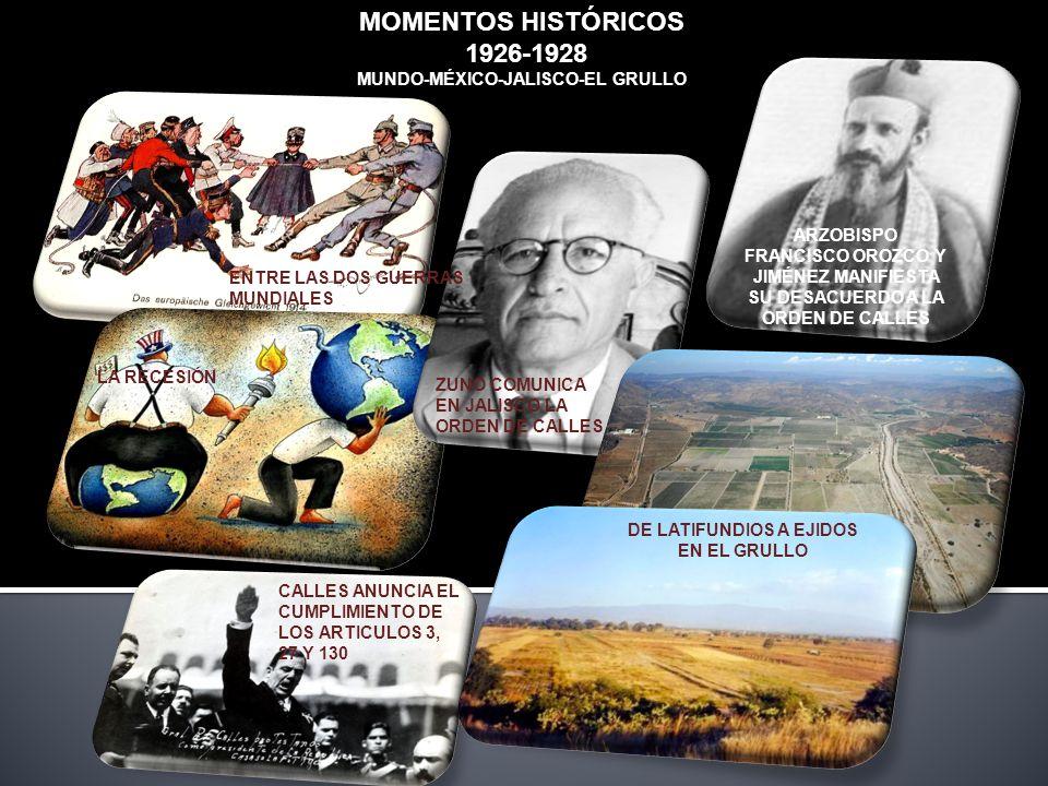 MUNDO-MÉXICO-JALISCO-EL GRULLO DE LATIFUNDIOS A EJIDOS EN EL GRULLO