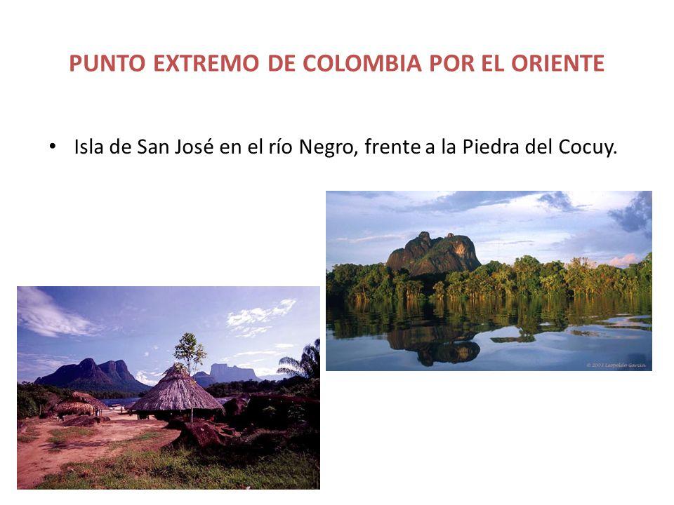 PUNTO EXTREMO DE COLOMBIA POR EL ORIENTE